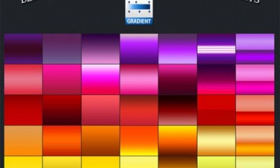 1.photoshop gradients