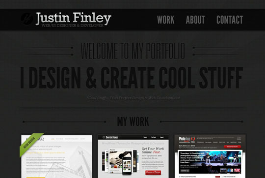 one page html5 websites