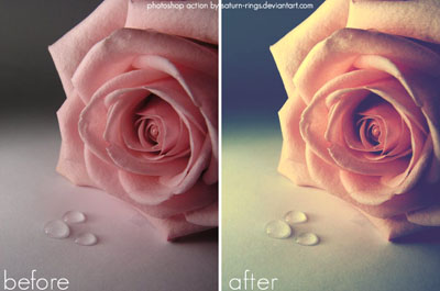 vintage photoshop actions