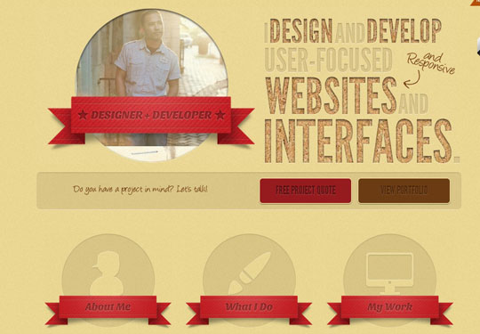 circles in web design