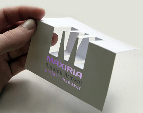 Showcase of memorable folded business card designs designbeep folded business cards reheart Gallery