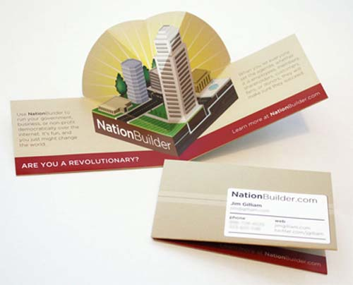 Showcase of Memorable Folded Business Card Designs