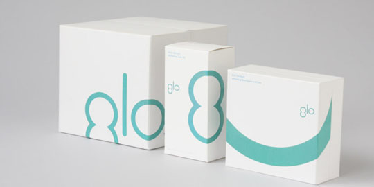 typographic package design