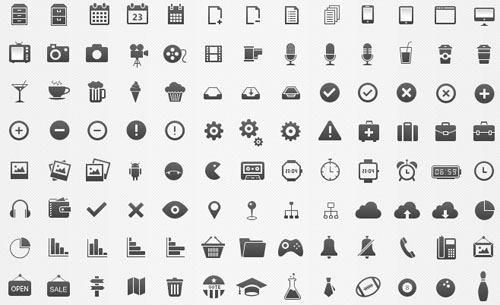1.free vector icons