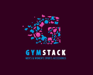 1.gym and fitness logos