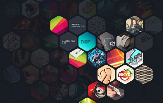 Showcase Of Websites Using Hexagons Designbeep