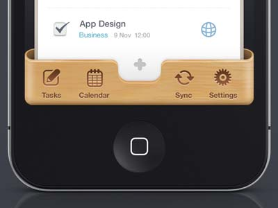 iphone app ui