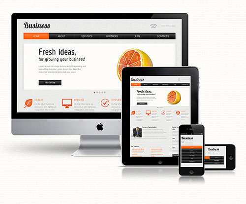 Premium And Fully Responsive Web Templates From MightyDeals - Full responsive website templates