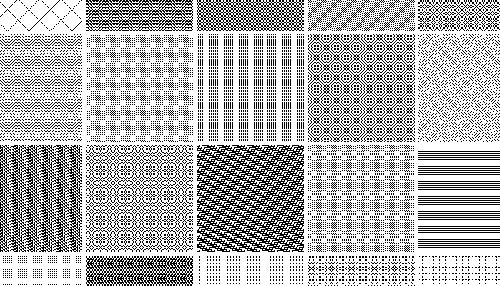 40 Free Repeatable Pixel Patterns For PhotoshopPAT Designbeep Delectable Pixel Patterns