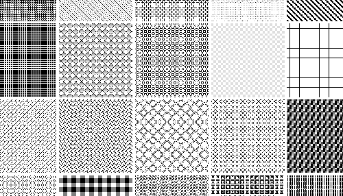 40 Free Repeatable Pixel Patterns For PhotoshopPAT Designbeep Gorgeous Pixel Patterns