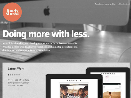 blur effect websites