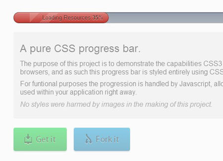 css3 jquery loading animations and progress bars