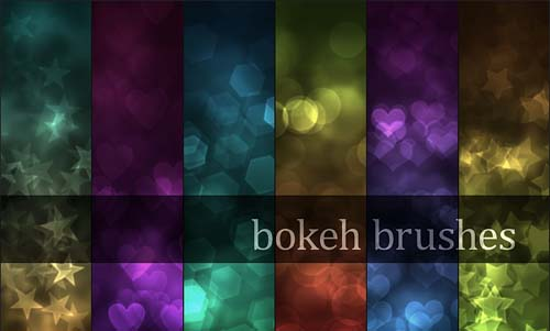 photoshop bokeh brushes