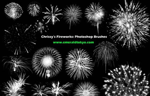 photoshop fireworks brushes
