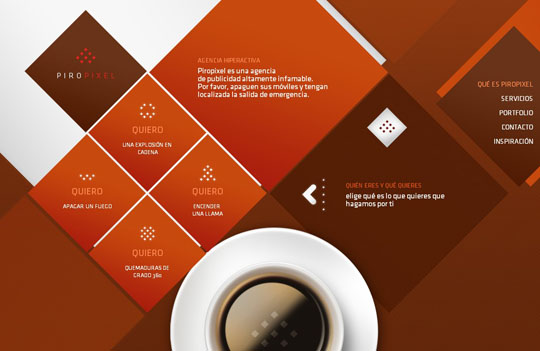 diamonds in web design