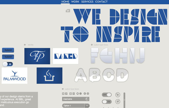 web design inspiration