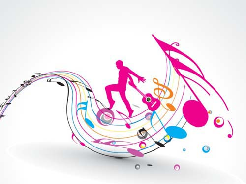 35 Free Eye-Catching Music Related Vectors For Designers
