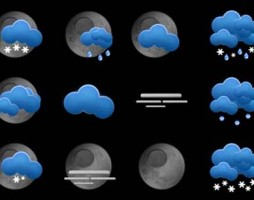 1.free weather icons