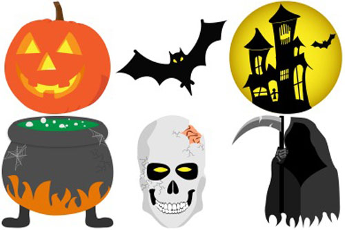 a cool collection of free halloween icon sets