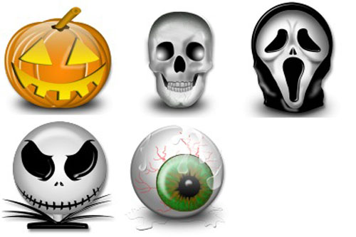 Halloween Icons by Iconshock: designbeep.com/2012/10/25/a-cool-collection-of-free-halloween-icon...