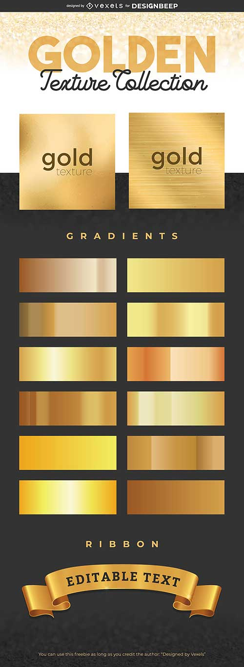 30 Free Shiny Gold Textures For Designers | Designbeep