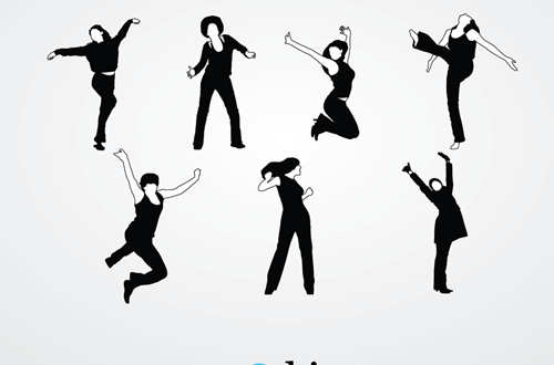 30 Sets of Free Vector People Silhouettes For Your Next ...