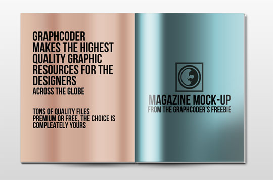 A Collection Of Free Realistic Magazine Mockups To Display Your ...