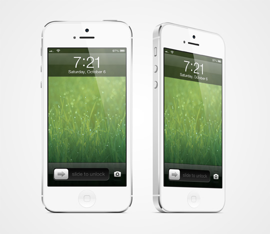 20 Free and Very Realistic iPhone 5 Mockups To Showcase Your iOS ...