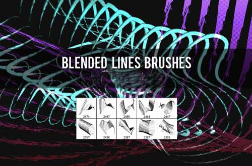 photoshop lines brushes