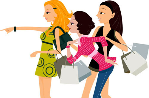 free shopping vectors