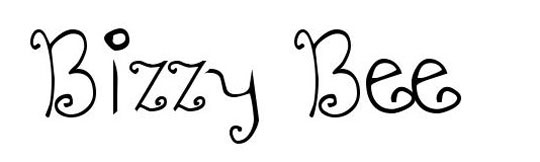 curly fonts