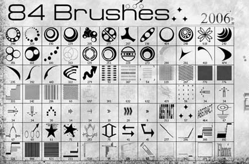photoshop vector brushes