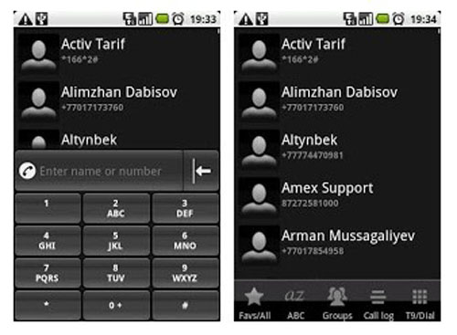 address book apps for ios and android