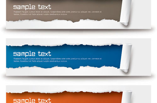 A New Collection Of Free Vector Banners To Save Your Time | Designbeep