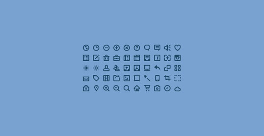 10.free pixel perfect icons