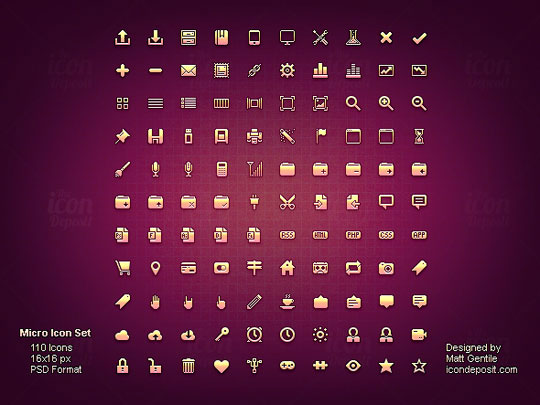 11.free pixel perfect icons