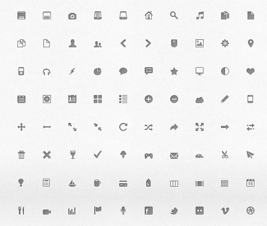 15.free pixel perfect icons