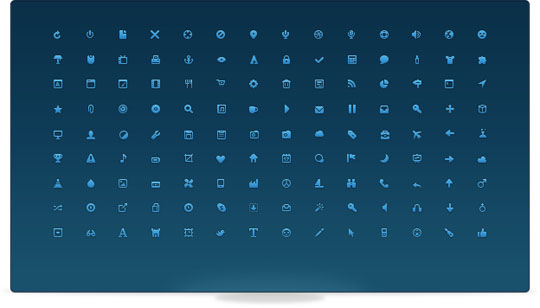 18.free pixel perfect icons