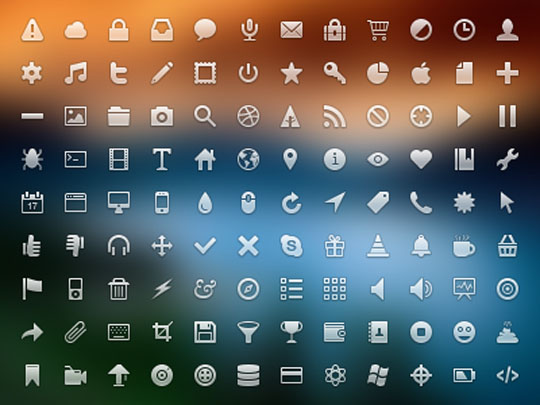 19.free pixel perfect icons