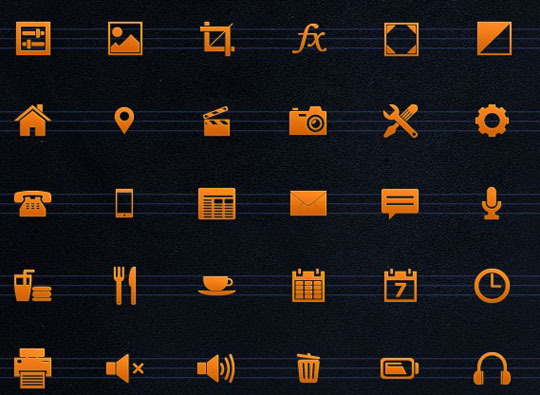 26.free pixel perfect icons