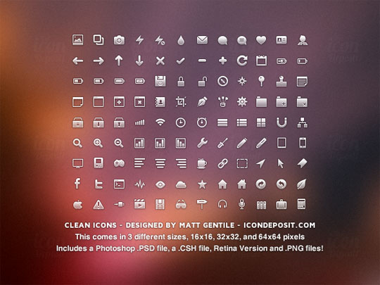 5.free pixel perfect icons