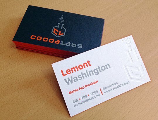 The science behind a business card designbeep color2 colourmoves