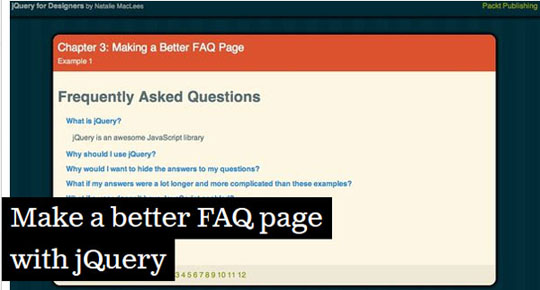 Make-a-better-FAQ-page-with