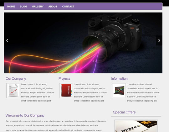 free html5 responsive website templates - Free Responsive Website Templates