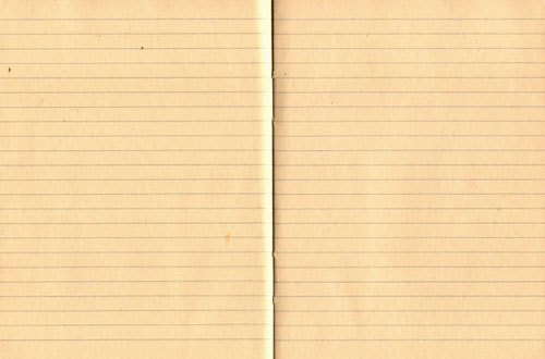 20 Free Lined Paper Textures for Designers – Yellow Notebook Paper Background