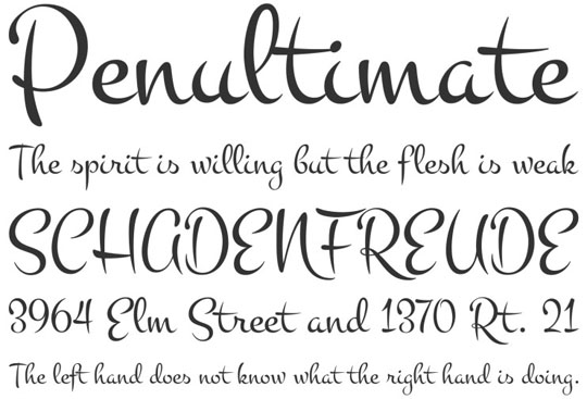 12 New and Free Commercial Use Fonts [May,2013] | Designbeep