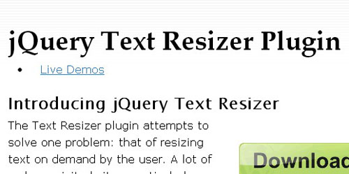 13.typography jquery plugins