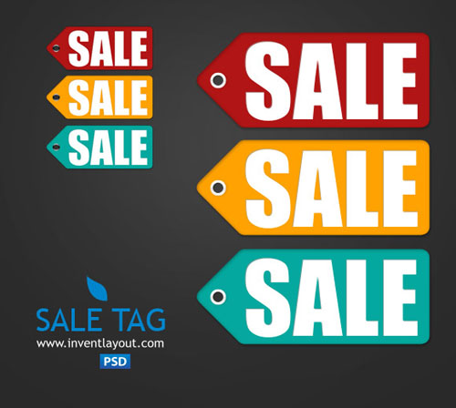 22 Free And Attractive Price Sale Discount Tag Psd Files