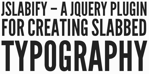 20.typography jquery plugins