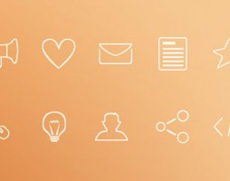 3.free outline icons